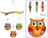 Sun Catcher: Eulen-Mobile