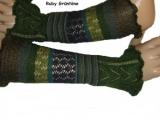 Armstulpe Ruby grün