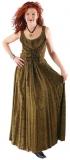 Sommerkleid geschnürt: olive mit Ranke