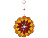 Sun Catcher: Mandala orange