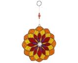Sun Catcher: Mandala orange