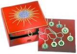 Chakra-Schmuck mit 7 Anhängern